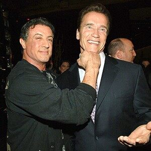 """Arnold Tells Tom: """"…I may be doing more movies with Sly…"""""""