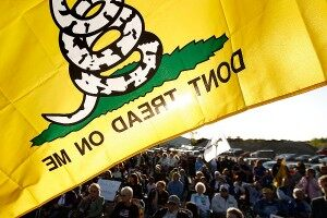 Tea Party Flag Banned
