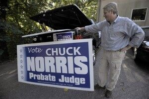 Chuck Norris for Judge?