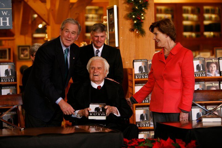 billy graham library. Billy Graham at the Billy