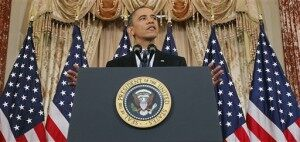 President Obama Speaks on the Middle East