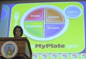 Goodbye, Food Pyramid.  Hello, Food Plate.