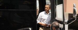 President Obama's Midwest Bus Tour Rolls On [VIDEO]