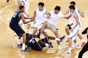 Basketbrawl: U.S. College Basketball Team Chased From Game in China