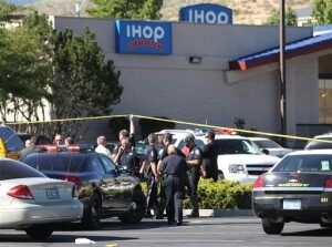 Breakfast Turns Bloody for National Guardsmen at Nevada IHOP