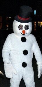 Frosty the Snowman Arrested