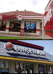 King Dethroned: Wendy's Passing Burger King As #2 Fast Food Joint