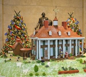 Christmas Style: Mt. Vernon Celebrates With Massive Gingerbread House