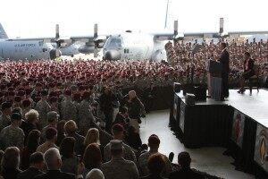 American Dispatch: Returning Home From Iraq. A Snapshot From Ft Bragg
