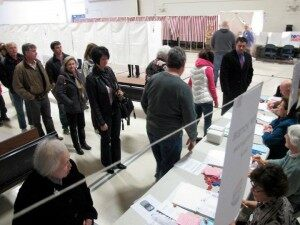 NH Voters Casting Primary Ballots [VIDEO]