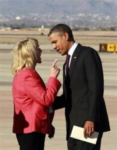 President Obama and AZ Gov. Brewer Share Heated Exchange [VIDEO]