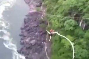 Bungee Jump Goes Wrong, Woman Somehow Survives [VIDEO]