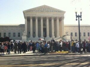 Supreme Court Justices Hear First Day of Healthcare Arguments