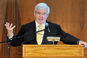 Gingrich Makes Campaign Cutbacks