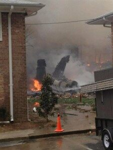 Navy Jet Crashes in Virginia Beach [VIDEO]