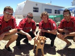 Blind Puppy Finds Home With Baseball Team