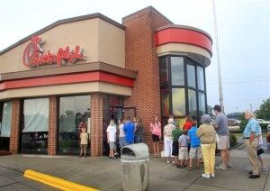 Chick-fil-A Appreciation Day Fuels Controversy [VIDEO]