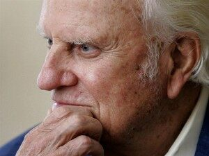 Rev. Billy Graham Admitted to NC Hospital