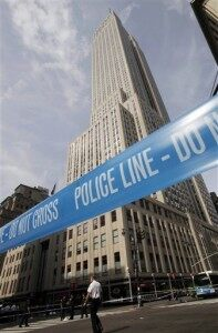 Shooting Outside Empire State Building in NYC [VIDEO]