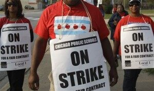 Chicago Mayor Asks Courts to End Teachers Strike
