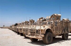Securing America: End of the MRAPs