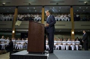 AEHQ: Romney Speech Puts Foreign Policy in Front [VIDEO]