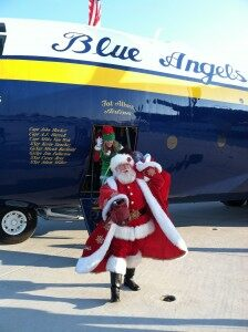 Blue Angels Deliver Toys to NJ Sandy Victims [VIDEO]