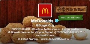 Burger King-Twitter Hacked