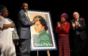 USPS Selling Rosa Parks Stamp Commemorating What Would Have Been Her 100th Birthday