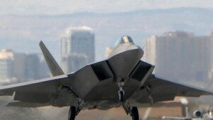 U.S. Sends Stealth F-22 Fighters to South Korea [VIDEO]