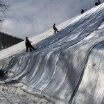 Russia Stockpiling Snow