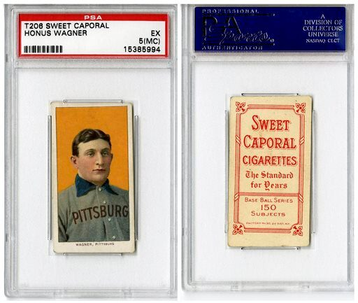 Honus Wagner Card Baseball