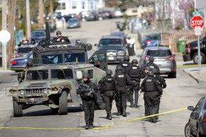 (AUDIO) Police State: Caller Says Cops Too Militarized, Aggressive During #BostonBomber Manhunt