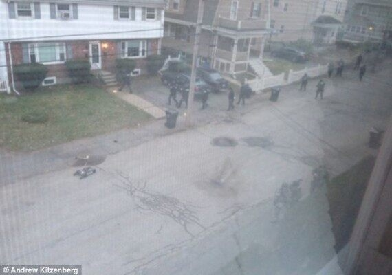 Hour later, cops swarm the local homes