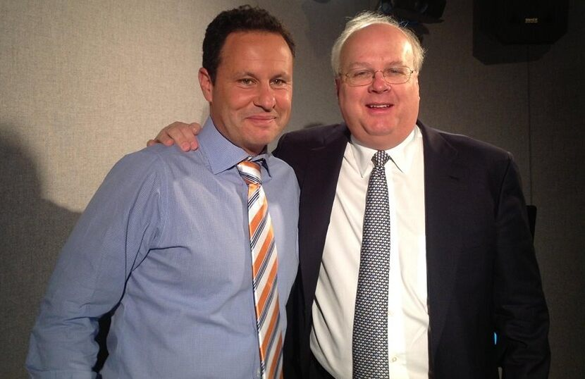 Photo of Karl Rove & his friend celebrity  Deputy Chief -