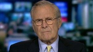 (AUDIO) Sec. Rumsfeld on #Syria: Doubts @BarackObama Will Act, America's Credibility Is At Stake