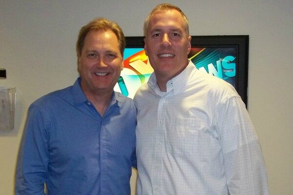 Steve Wariner and FOX News Radio's Jeff Monosso