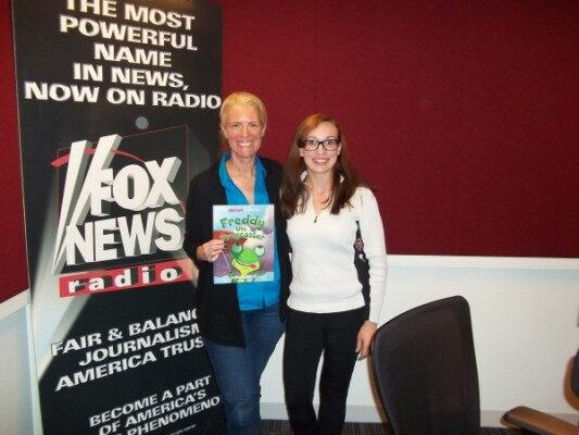 (Janice Dean and FOX News Radio's Lauren Faulkner)