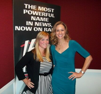 (FOX News Radio's Pam Wentworth and Dr. Katy Nelson)