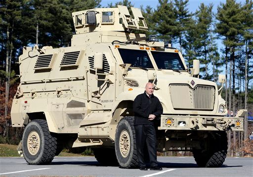 Securing America: Police Getting Leftover Military Trucks