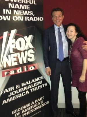 (Shepard Smith and FOX News Radio's Lisa Brady)