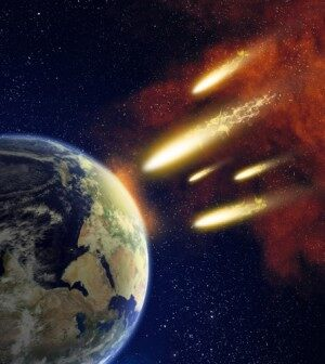 recent asteroid meteor hitting earth - photo #9