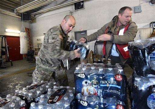 Democrats outraged at governor over Flint water crisis