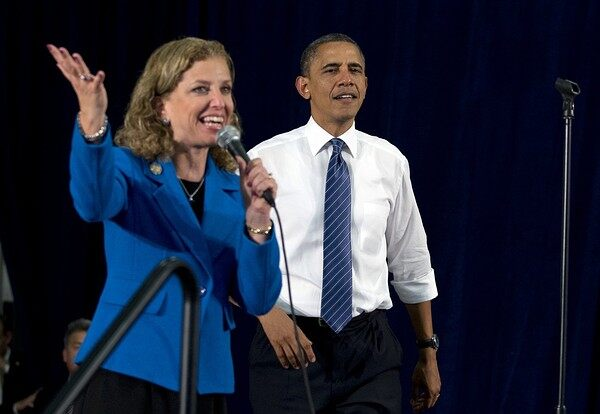 Under fire, Democratic Party chairwoman to step down