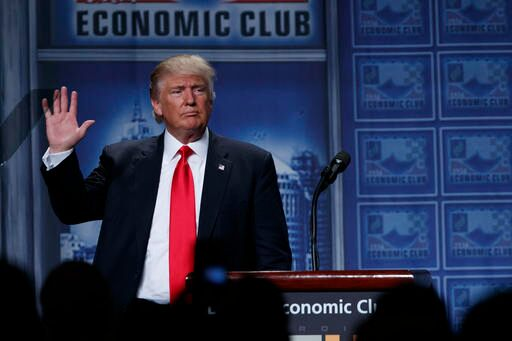 Trump tax plan pulled from campaign website