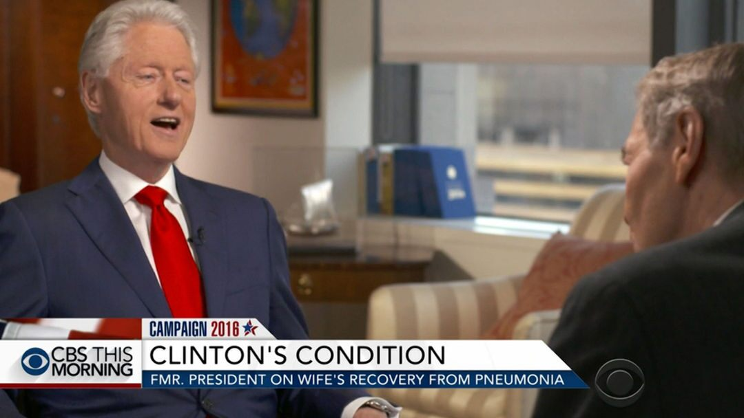 Bill Clinton talks about his role as the President's husband