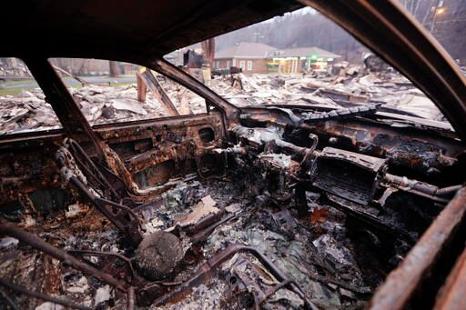 Two juveniles charged with arson in deadly East Tennessee wildfires