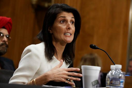 Senate Panel Approves Nikki Haley's Nomination for UN Ambassador