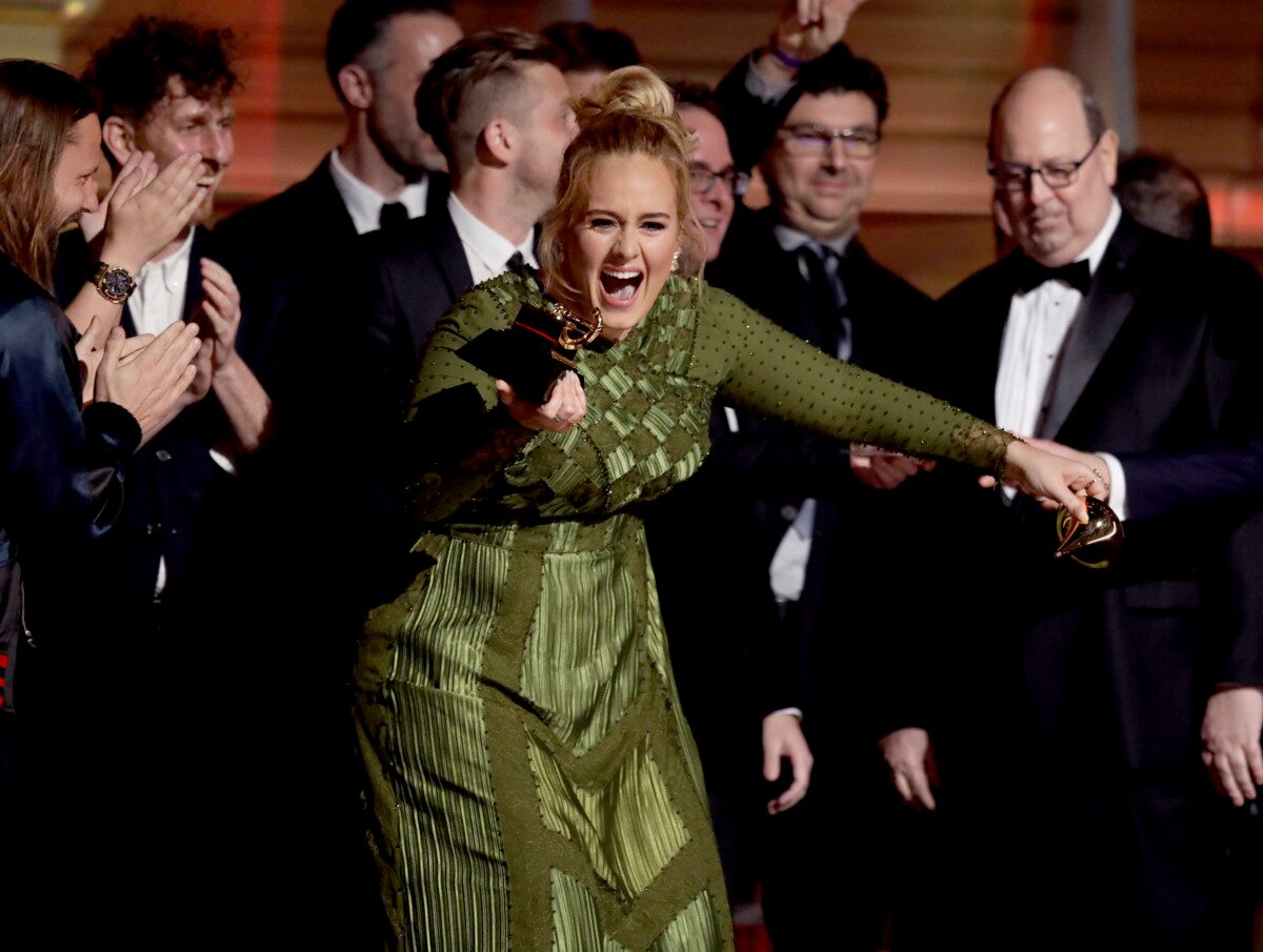 Adele Overcomes Challenges to Shine at Grammys