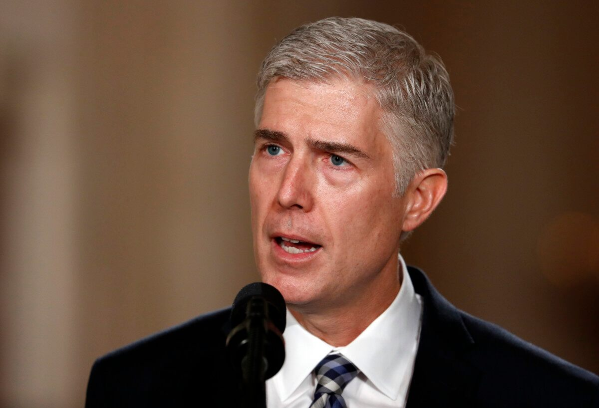 Senate confirmation hearings for Supreme Court nominee Judge Neil Gorsuch